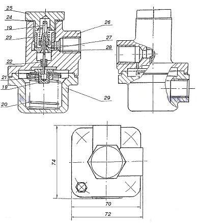 Мембрана стабилизатора РДБК-200