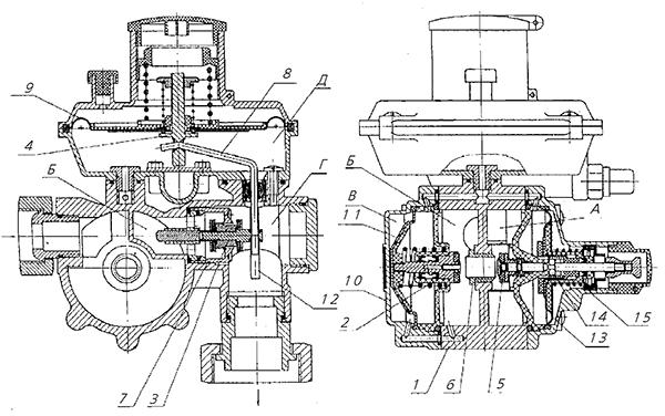 Схема RF 10/RF 25