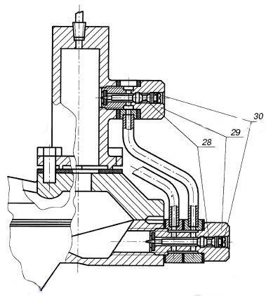 Дроссельный узел РДГ (см. Схема) состоит из следующих основных узлов.  29- штуцер.  РДГ-25Н(в). РДГ-50Н(в). РДГ-80Н(в)...
