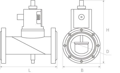 Схема клапана КЗГЭМ