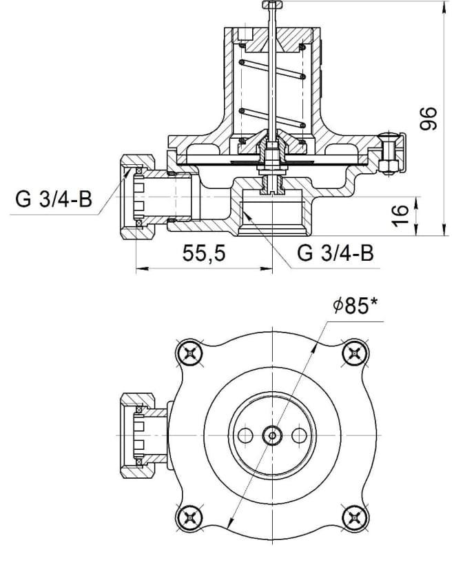 Схема КПС-Н, КПС-С1, КПС-С2