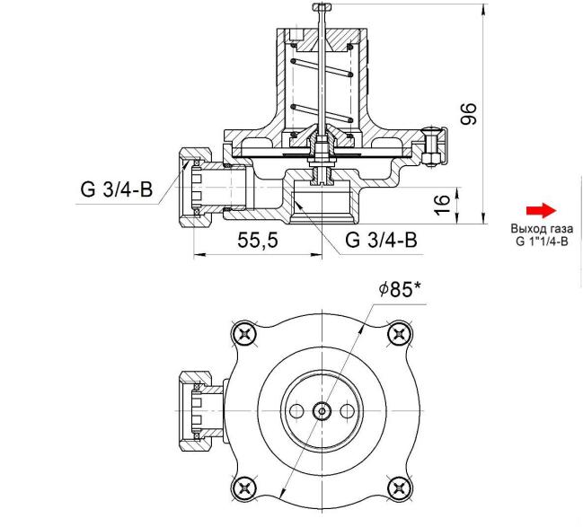 Схема КПС-32Н, КПС-32В, VENIO-F