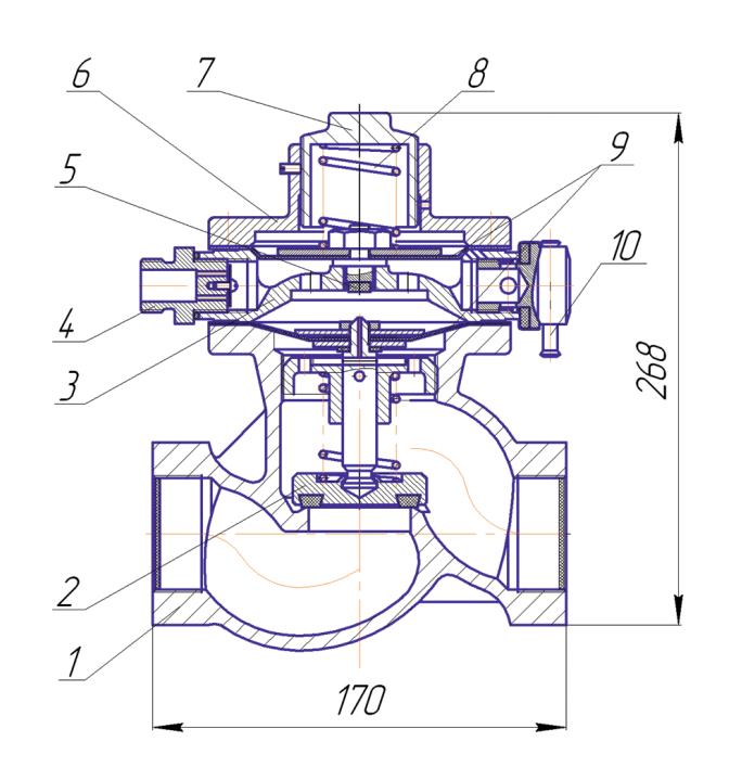 Схема ПКК-40М