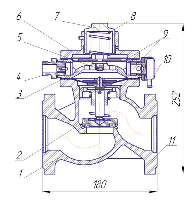 Схема ПКК-40