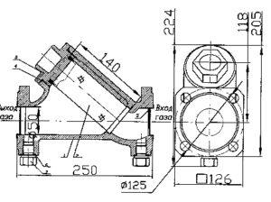 Схема ФГС-50