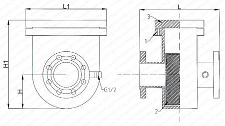Схема ФВ-100м